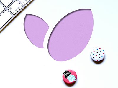 Digital Lavender design shop etsy lavender logo design