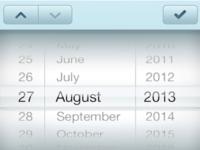 New datepicker of freshbox in iOS7