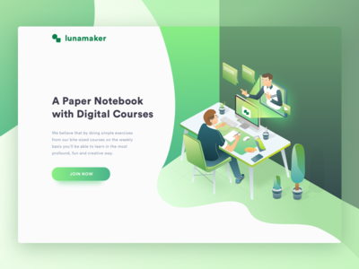Drawing Course Landing page