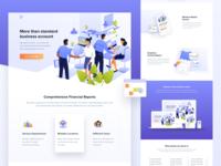 Fintech's Landing Page