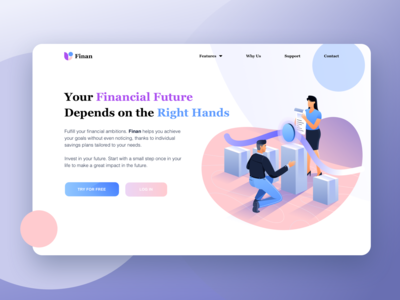 Financial Accelerator Landing Page - Exploration