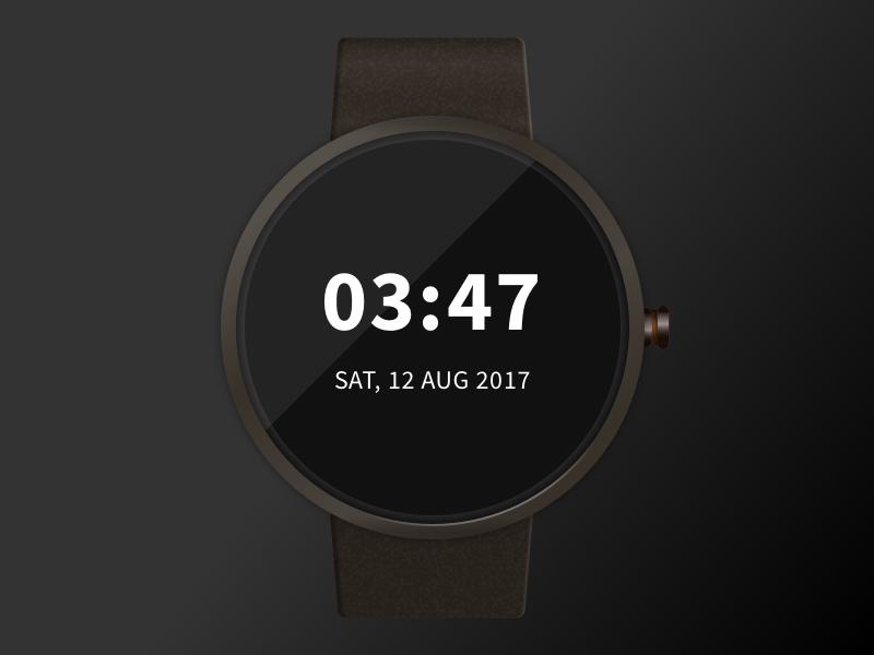 Smartwatch Sketch Mockup – Freebie