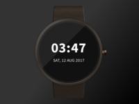 Smartwatch Sketch Mockup - Freebie