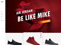 Character & Emotion 1 - Nike home page