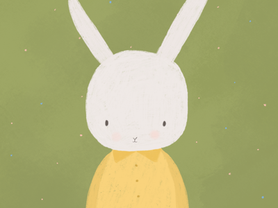 Milo The Bunny bunny ui fun logo design characters characterdesign concept character illustration childrensillustration