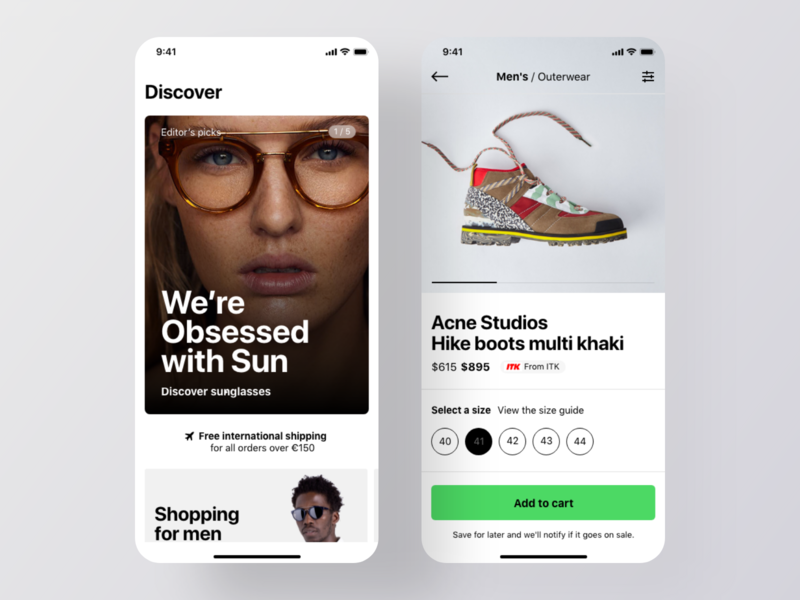 E commerce App e-commerce design mobile app design ui kit ios app ui kit product page product design shop ui design app ui design ios app ios app design ecommerce design ecommerce app e-commerce app