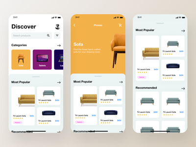 E commerce App Design - 2nd Concept alibaba amazon product design product screen product page product categories e-commerce design e-commerce shop shopping app online shop shopping ecommerce e-commerce app