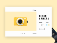 Nison Camera - Product Ui