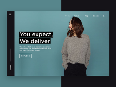 Shopify - Landing Page website design product design typography landing page minimalism minimal ux design ui design