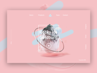Icely - Landing Page  Dribbble