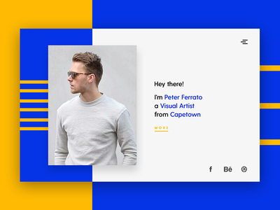 Peter Ferrato  - Personal Website brand identity website minimal typography product design personal branding personal website ui design ux design website design minimalism landing page