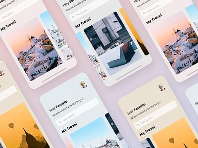 Travel App UI Kit Freebie userexperiencedesign userinterfacedesign travelapp mobileappdesign product design minimal typography minimalism ux design ui design