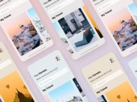 Travel App UI Kit Freebie