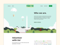 Food For All Website Redesign