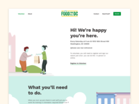 Food For All Website Redesign 2
