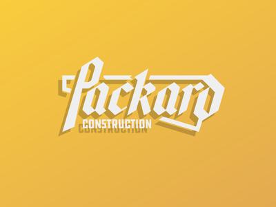 Packard Construction Logo