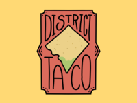 Reimagined District Taco Logo
