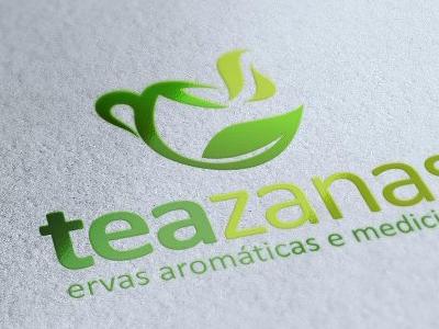Teazanas Logo logo branding