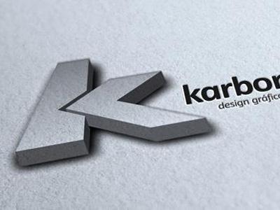 Karbono Logo logo branding karbono