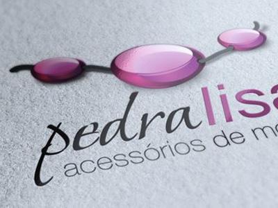 Pedra Lisa Logo logo branding