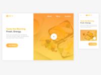 Joe's breakfast site design