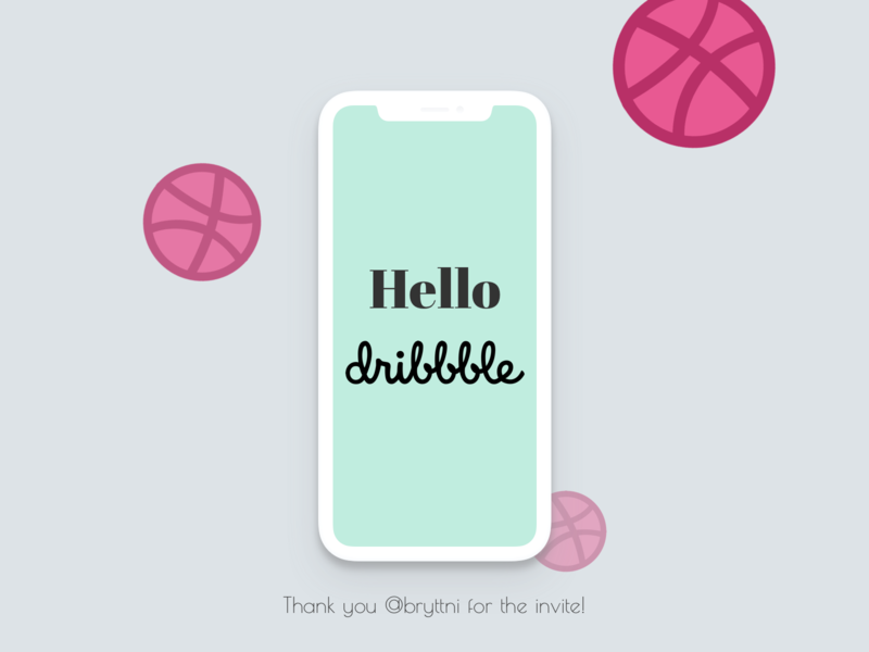 Hello Dribbble Community!