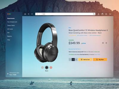 Amazon Desktop App Concept