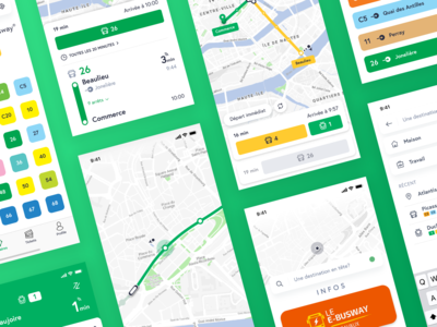 Public Transport App Redesign