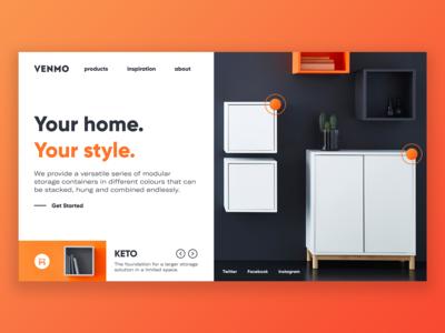 Venmo — Landing Page