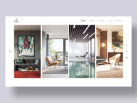 Architecture Firm Landing Page Concept