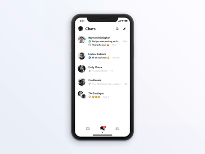 Centralised Messaging App Concept