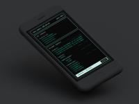 Command Line UI