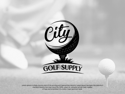 Golf logo graphic design golf logo logo inspiration logodesign logo design branding vector logoinspirations logoidea logos logo golf ball golf club golf