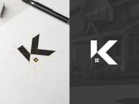 K Logo For Real Estate