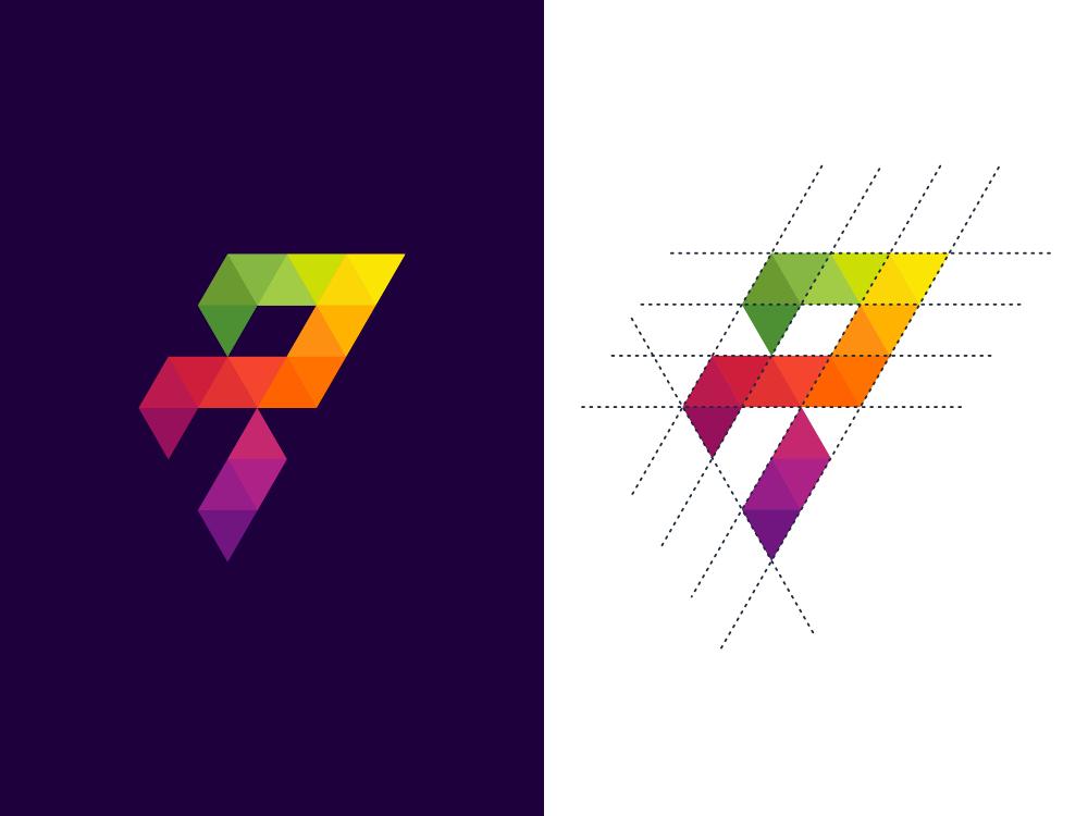 R Logo Design by Ogi Latoh on Dribbble