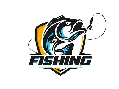 Fishing logo idea illustration graphic design branding design awesome logo logo inspiration logoinspiration logo ideas vector logoideas logoinspirations logoidea logos logo fish logo fisher fisherman fishing fish