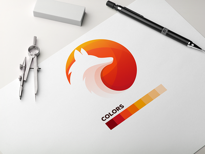 Foxmedia design graphic design animal branding logodesigner logodesign logo ideas vector logoideas logoinspirations logoidea logos logo colorful colors wolf logo wolf fox logo foxy fox
