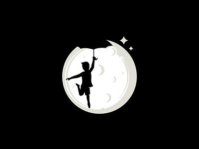 dream picture media logo film kid moonlight moon space imagine dreams dream graphic design vector design logo inspiration logo ideas awesome logo logoidea logoinspirations logos logo