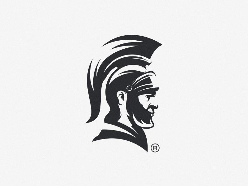 spartan mark fitness colorful animal vector logotype design illustration icon mascot sports character esports masculine games designs brand branding esport logo