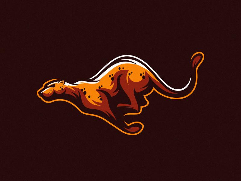 Jaguar logo mark fitness colorful animal vector logotype design illustration icon mascot sports character esports masculine games designs brand branding esport logo