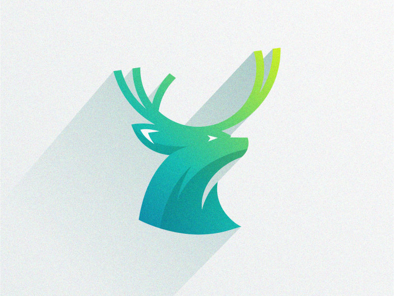 deer Logo mark fitness colorful animal vector logotype design illustration icon mascot sports character esports masculine games designs brand branding esport logo