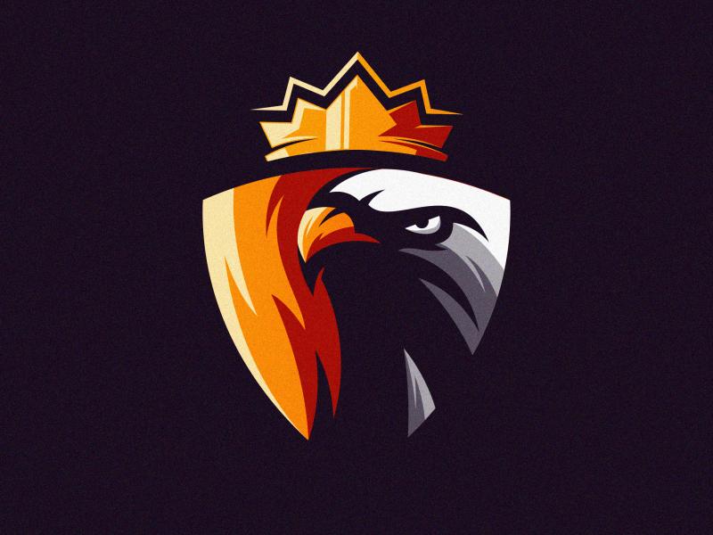 eagle logo mark fitness colorful animal vector logotype design illustration icon mascot sports character esports masculine games designs brand esport branding logo