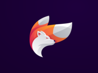 colorful fox logo