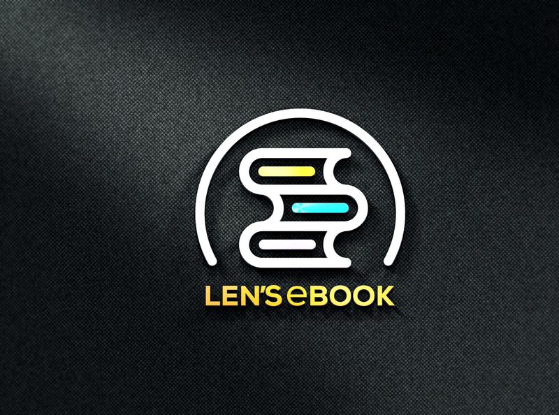 Len's eBook- Professional Logo Design luxury logo creative logo flat logo logo concept corporate logo modern logo professional logo custom logo company logo