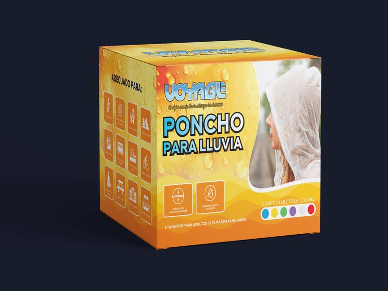 Voyage- Amazon Product Label, Packaging & 3D Mock-Up Design brand identity custom box design printdesign brand design product box design branding mockup product packaging packaging design