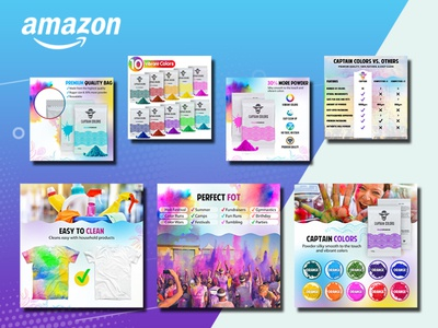Captain Colors- Amazon Product Image Editing & Design amazon infographics infographics lifestyle photo product infographics product design amazon listing design product photo design infographic design product images amazon images