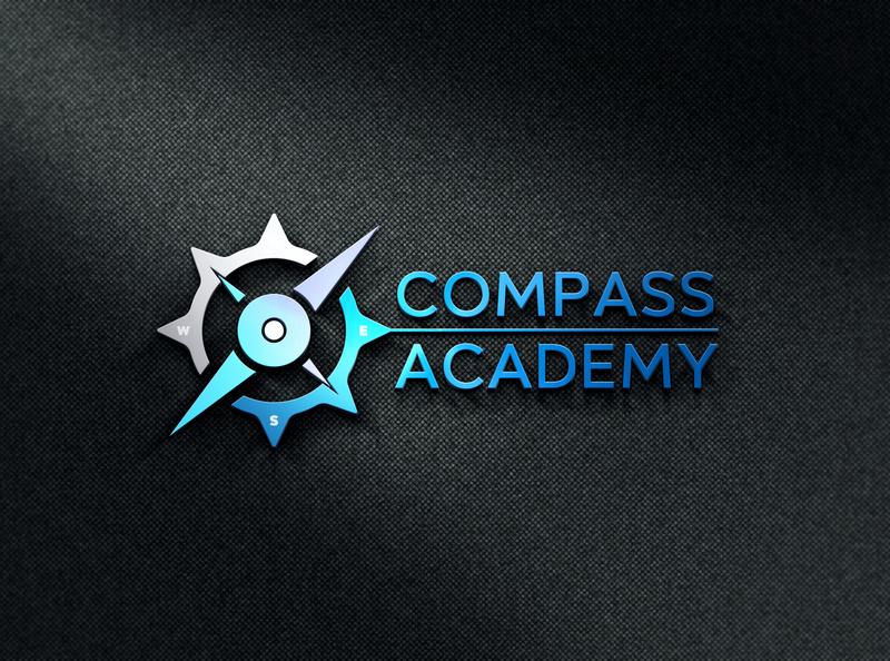 Compass Academy- Premium Quality Business Logo Design luxury logo creative logo flat logo logo concept corporate logo modern logo professional logo custom logo company logo
