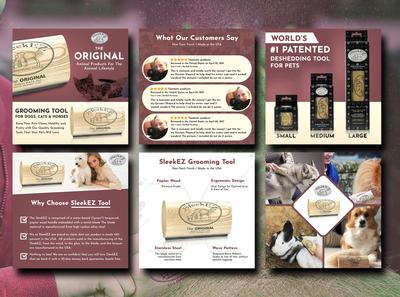 SleekEZ- Amazon Product Listing Infographics Images & Design amazon infographics infographics lifestyle photo product infographics product design amazon listing design product photo design infographic design product images amazon images