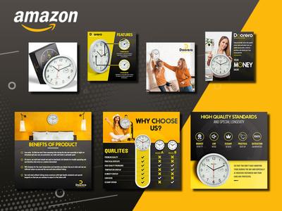 Doorero- Premium Quality Amazon Listing Infographics & Images brand identity custom box design printdesign brand design product box design branding mockup product packaging packaging design