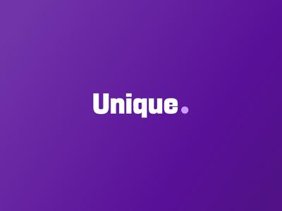 Unique logo logo parametric design type design typeface